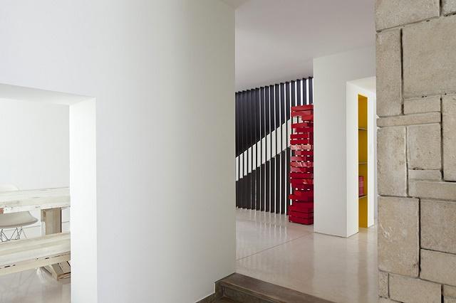 Современный минимализм особняка в Тель-Авиве