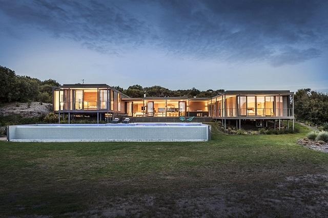 Стильный особняк на острове Морнингтон в Австралии