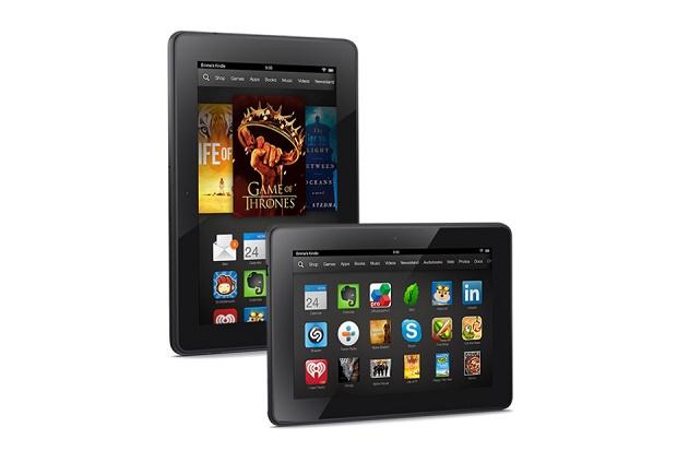 Amazon представила планшеты Kindle Fire HDX 7 и 8.9