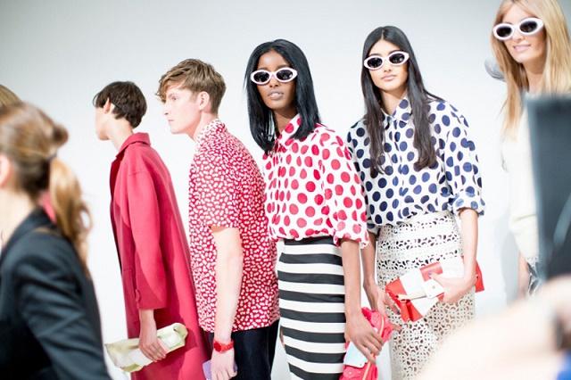 Неделя моды в Лондоне: Burberry Prorsum Весна 2014