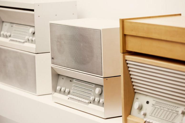 Коллекция техники Braun в бутике Paul Smith