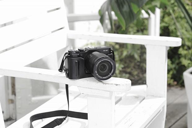 Анонсирована беззеркальная камера Fujifilm X-A1
