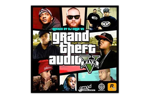 Rockstar Games представила новый микстейп 'Grand Theft Audio V'