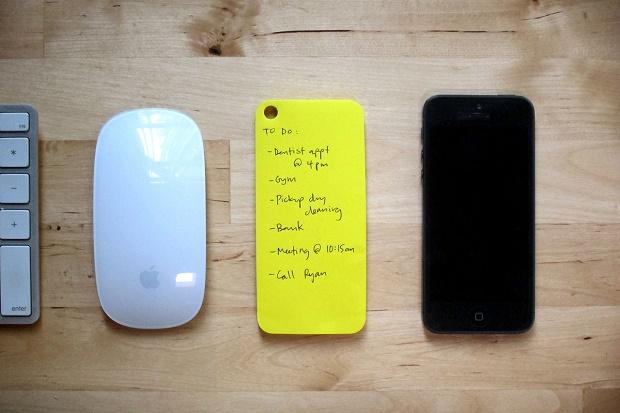 Чехол-блокнот для заметок на iPhone