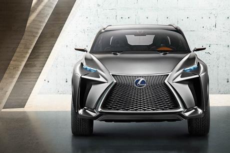Концептуальный кроссовер Lexus LF-NX
