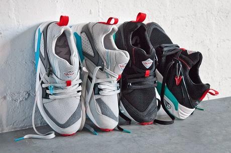 "Кроссовки Sneaker Freaker x PUMA Blaze of Glory ""Shark Attack"""