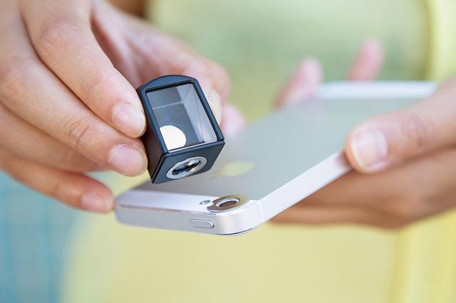 Spy Lens для iPhone: снимки под прямым углом