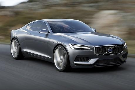 Volvo официально представила Concept Coupe