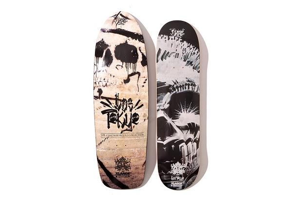 "Коллекция ""Los Tokyo"" от XLARGE x Chaz Bojorquez x Division Creative Foundry Осень 2013"