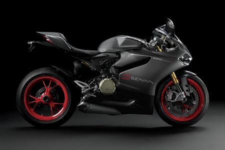 Спортбайк Ducati 1199 Panigale S Senna 2014
