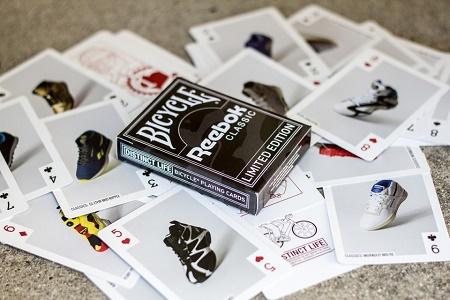 Игральные карты Reebok Classic от Distinct Life x Bicycle