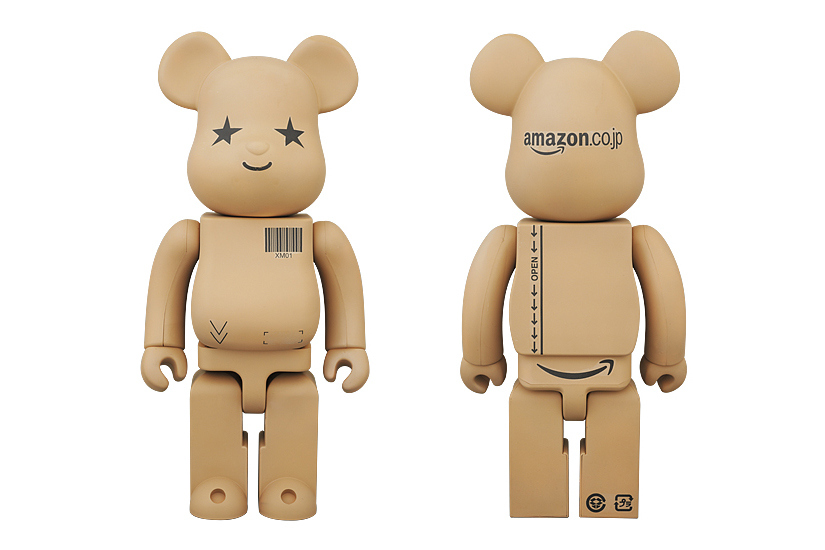 Коллаборация Amazon.co.jp x Medicom Toy 100% & 400% Bearbricks