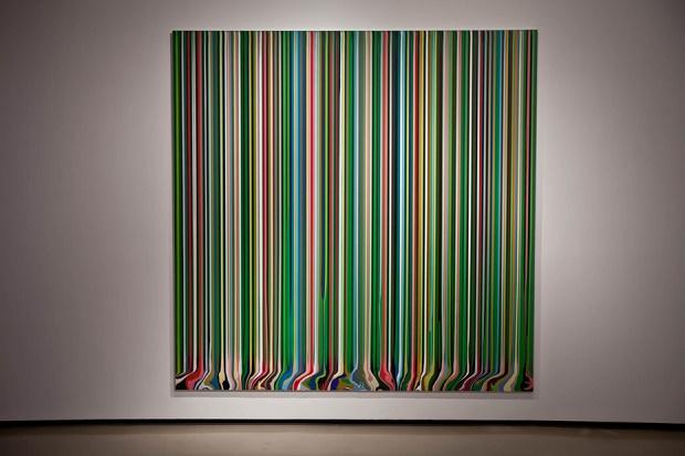 """Авторская выставка Иана Давенпорта """"Colorfall"""" в Нью-Йорке"""