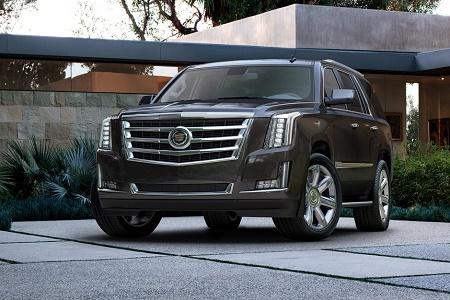Новый Cadillac Escalade 2015