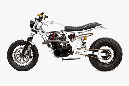 Мастерская Deus Ex Machina представила кастом на базе Yamaha SR400