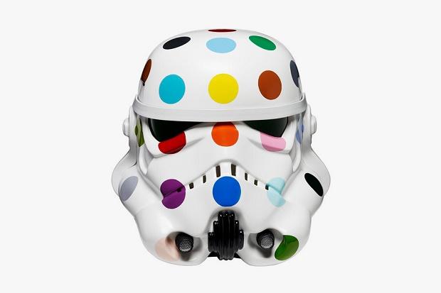 Дизайнерский шлем штурмовика в проекте Art Wars