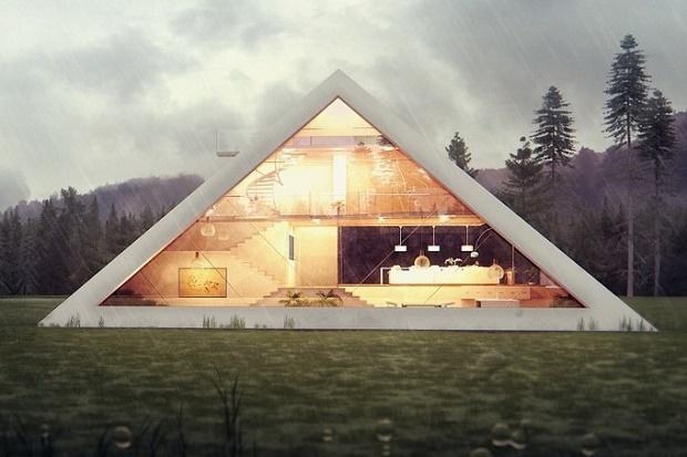 Дом-Пирамида от Хуана Карлоса Рамоса