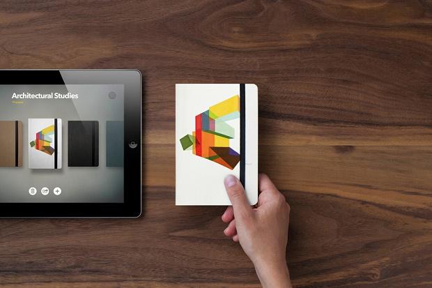 Блокнот Moleskine как приложение для iPad