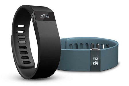 Fitbit Force - шагомер с часами