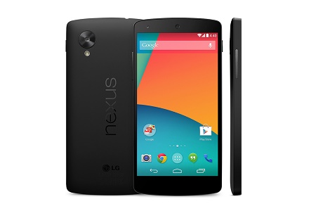 Nexus 5 засветился в Google Play за $349