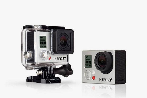 Представлена экшен-камера GoPro Hero3+