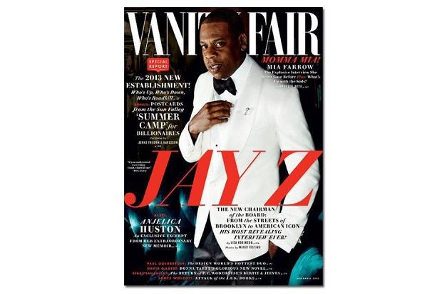 Jay Z на обложке Vanity Fair
