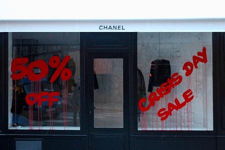 Kidult атаковал бутик Chanel Paris