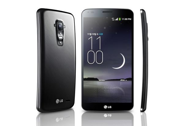 Смартфон LG G Flex с гибким дисплеем представлен официально