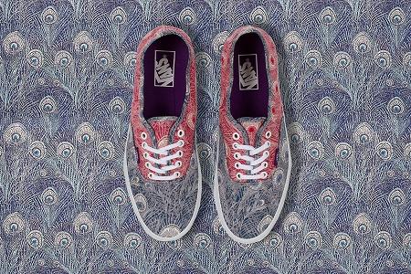 Зимняя коллекция Liberty Art Fabrics x Vans 2013