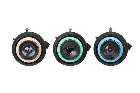 Новые экспериментальные объективы The Lomography Experimental Lens Kit!