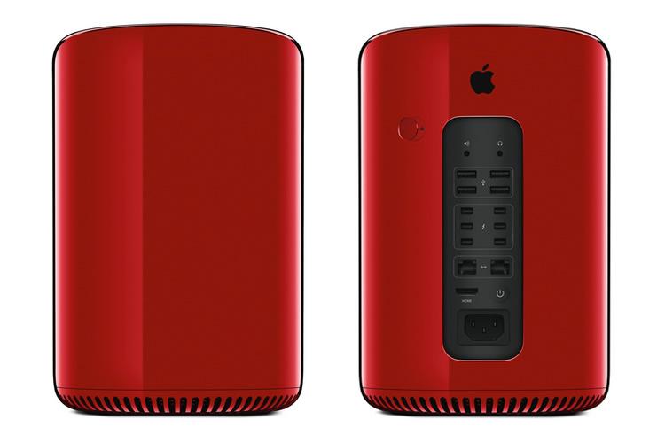 Красный Mac Pro выставлен на аукцион Sotheby's
