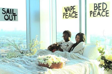 Премьера клипа Jhené Aiko feat. Childish Gambino – Bed Peace