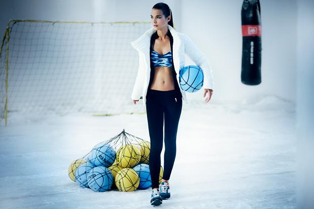 Спортивная коллекция Bershka Зима 2013