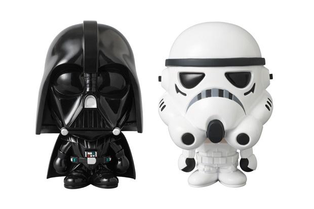 Фигурки Star Wars x A Bathing Ape x Medicom Toy STORMTROOPER и DARTH VADER