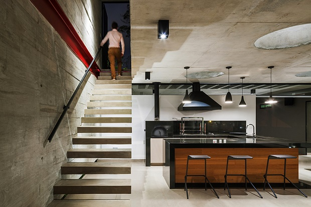 Стильный особняк Planalto в Бразилии