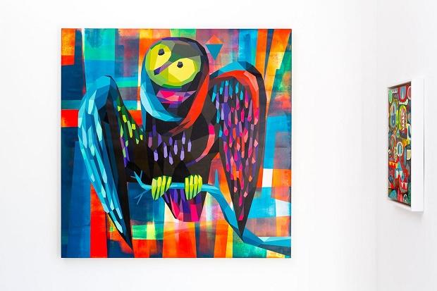 "Авторская выставка Тима Бискапа ""Charge"" в Лос-Анджелесе"