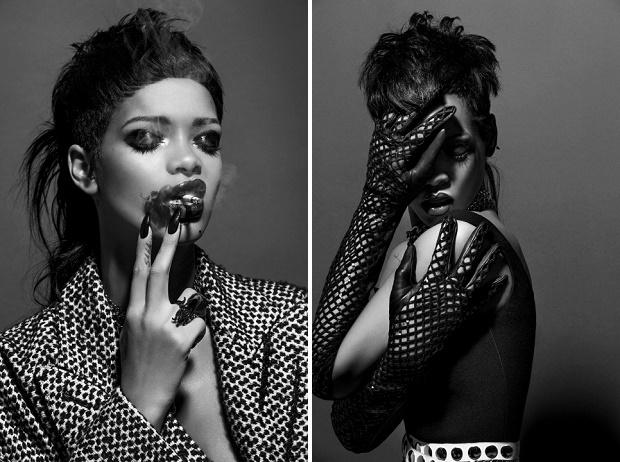 Rihanna для журнала 032c Осень/Зима 2013