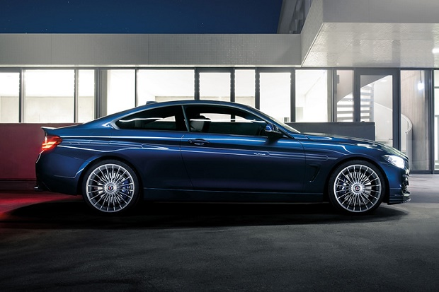 Ателье Alpina подготовило более мощную версию купе BMW 4-Series