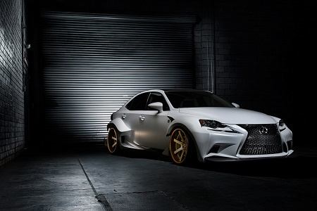 Lexus представила на SEMA свой IS 350 F Sport от DeviantArt