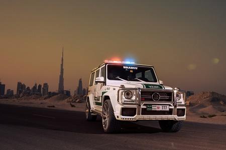 Brabus создал 700-сильный G63 AMG для полиции Дубая