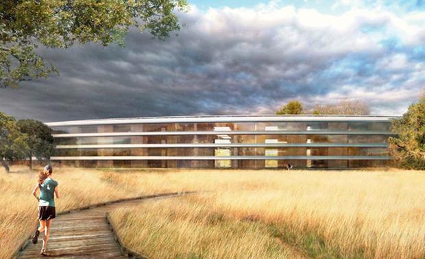 Apple построит «космический» кампус