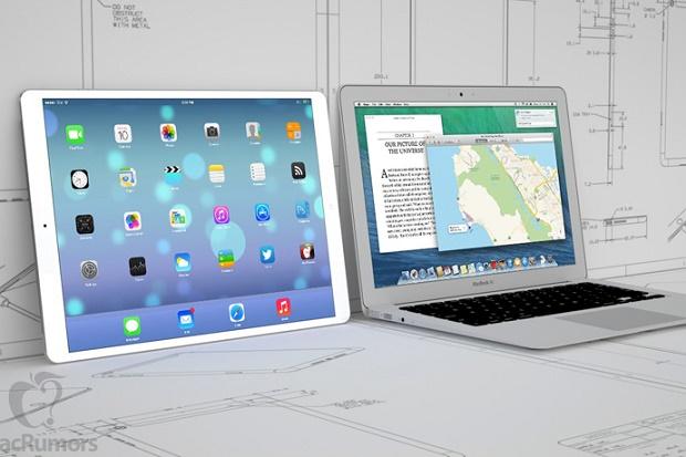 Apple начала производство 12.9-дюймовых панелей для будущих iPad