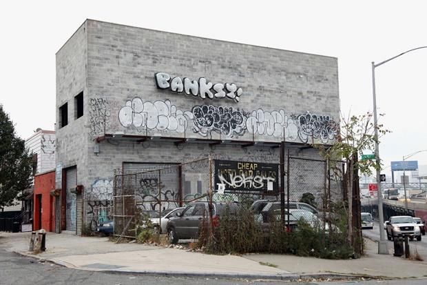 31 день с Бэнкси: итоги выставки в Нью-Йорке