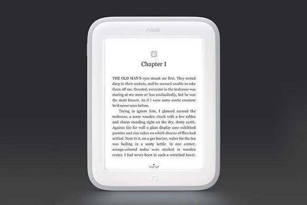 Barnes & Noble представила букридер Nook GlowLight
