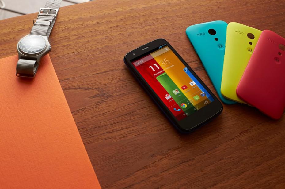 Motorola Moto G представлен официально