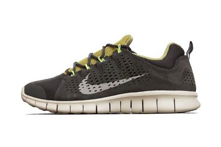 Кроссовки Nike Free Powerlines+ II LTR Newsprint/Dusty Grey-Parachute Gold-Volt