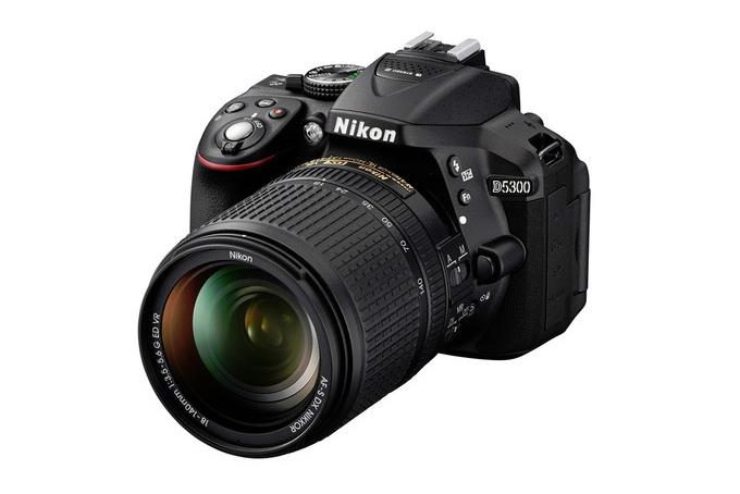 Представлена зеркальная камера Nikon D5300