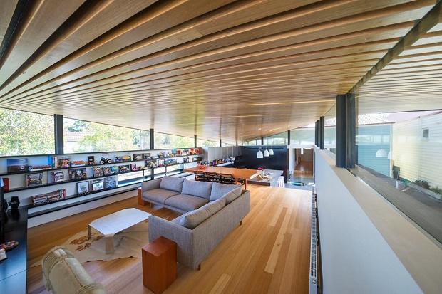 Современный дом Mullet от студии March