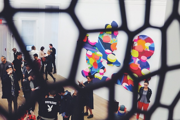 Выставка KAWS 'Pass The Blame' в Нью-Йорке