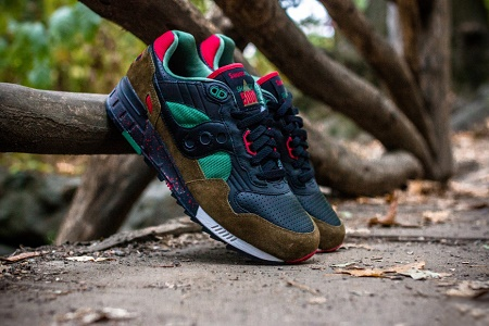 """Кроссовки West NYC x Saucony Shadow 5000 """"Cabin Fever"""""""
